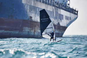 From the St. Regis Windsurfing with Nick Moloney to Macau, Greece, Macau, , China, on November 20, 2015. © Dominic James | www.dominic-james.com